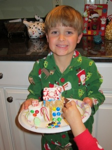 Seth's gingerbread house
