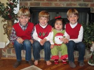 my 4 kids