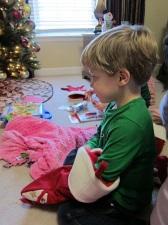Ethan's stocking