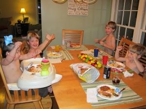 Crazy dinner!