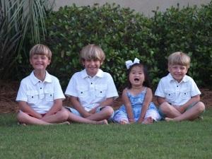 All 4 kids
