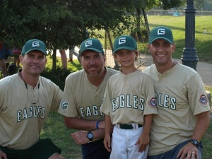 Carter and coaches