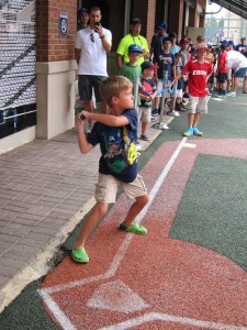 Seth batting