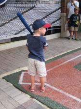 Ethan batting