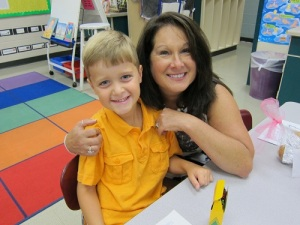 Seth and his teacher