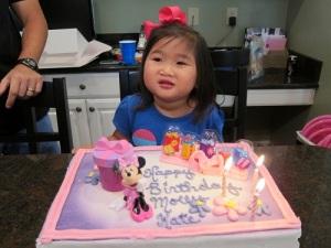 Singing Happy Birthday!