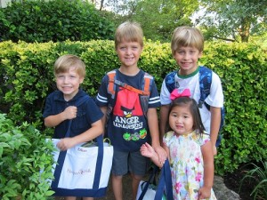 All 4 kiddos