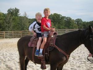 S - horseback