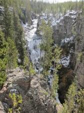 Waterfall-Yellowstone